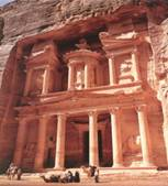 The Treasury at Petra - Jordan